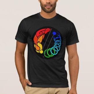 Camiseta Giro da probabilidade de intercepção