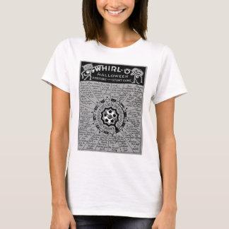 Camiseta Giro-o Game do Dia das Bruxas do vintage do kitsch