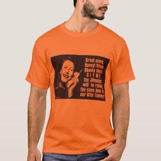 Camiseta Gitmo fechado - mulher no telefone