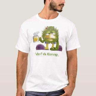 Camiseta glacoma, eu não faço manhãs…