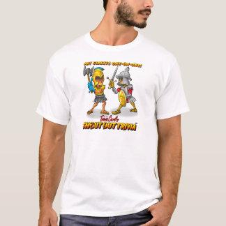 Camiseta Gladiadores da trivialidade