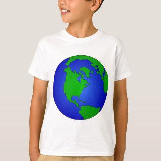 Camiseta Globo da terra