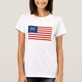 Camiseta Glória velha América de 99% unida