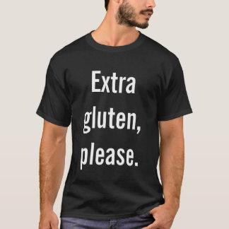 Camiseta Glúten extra por favor