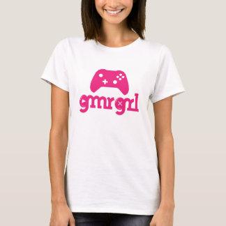 Camiseta gmrgrl - Xbox um controlador