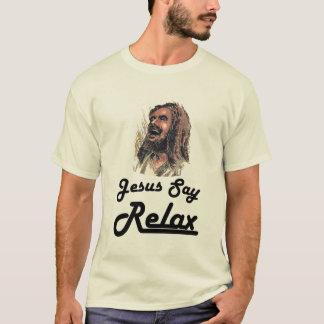 Camiseta Gnar robusto - Jesus diz relaxa