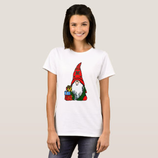 Camiseta Gnomo do azevinho do Natal