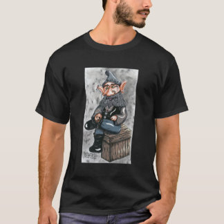 Camiseta Gnomo gótico do jardim