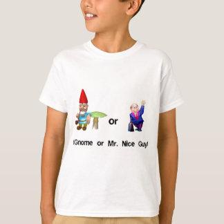 Camiseta Gnomo ou Sr. Agradável Cara