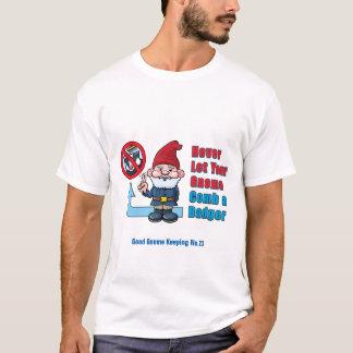Camiseta Gnomo parvo e texugo