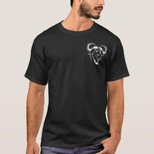 Camiseta GNU/Linux Black