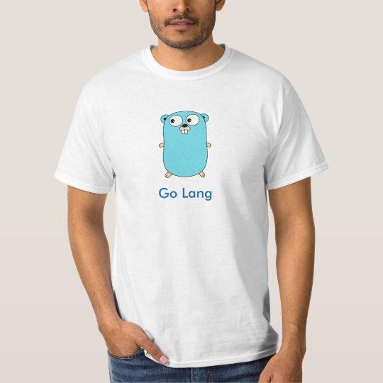 Camiseta Go Lang