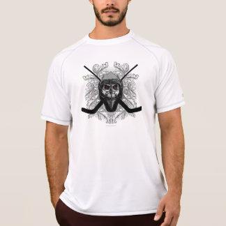 Camiseta Goalie infernal do hóquei