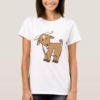 Camiseta goatee da cabra