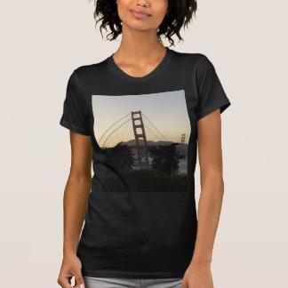 Camiseta Golden gate bridge no por do sol