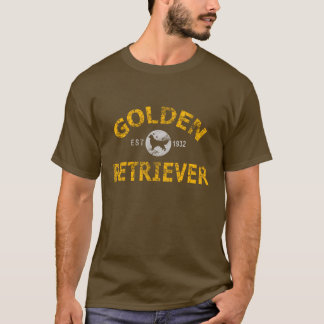 Camiseta Golden retriever