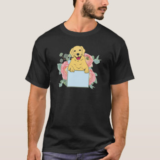 Camiseta Golden retriever que guardara o sinal
