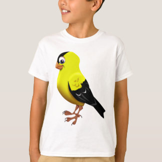 Camiseta Goldfinch americano