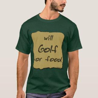 Camiseta Golf para a comida