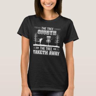 Camiseta Golfe ausente do disco de Taketh da árvore de