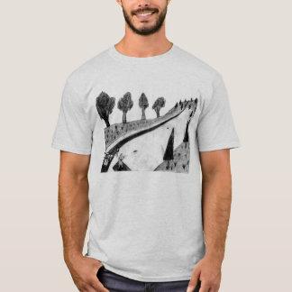 Camiseta golfe do disco