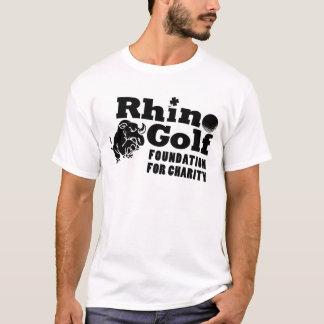 Camiseta Golfe do rinoceronte