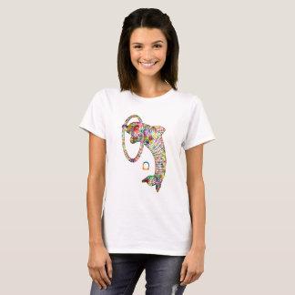 Camiseta Golfinho 2 3D colorido