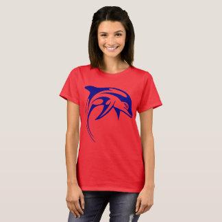 Camiseta Golfinho azul