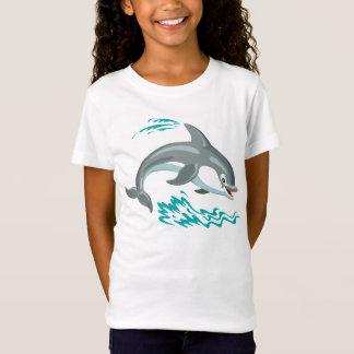 Camiseta golfinho dos desenhos animados