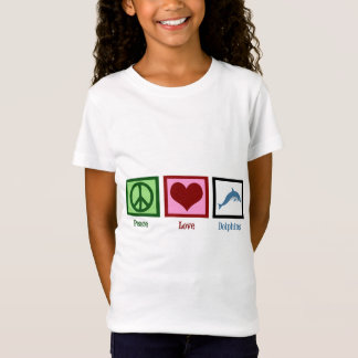 Camiseta Golfinhos do amor da paz