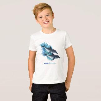 Camiseta Golfinhos nas ondas