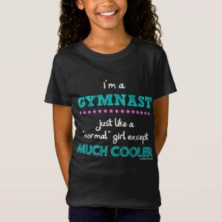 Camiseta Golly meninas - eu sou um Gymnast