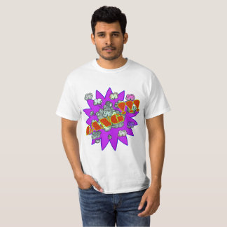 Camiseta Golpe do pop art