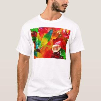 Camiseta goma da geléia
