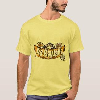 Camiseta Goma grande engraçada da banana