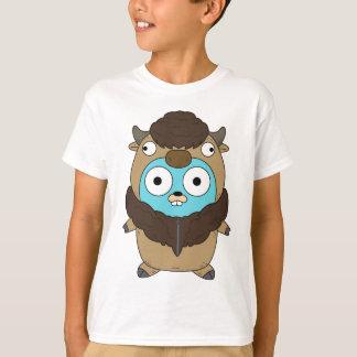 Camiseta Gopher do búfalo