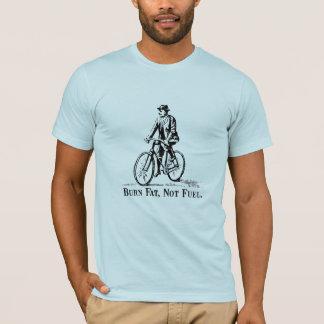 Camiseta Gordura da queimadura, não combustível