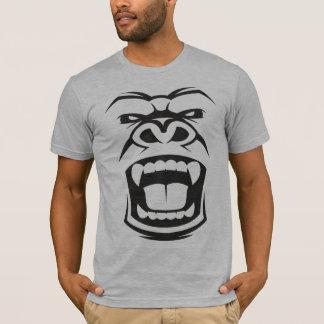 Camiseta Gorila irritado do Silverback: Primata alfa