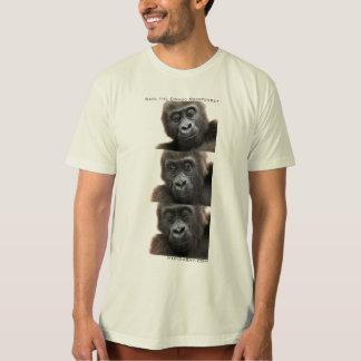 Camiseta Gorila: Salvar a floresta húmida de Congo