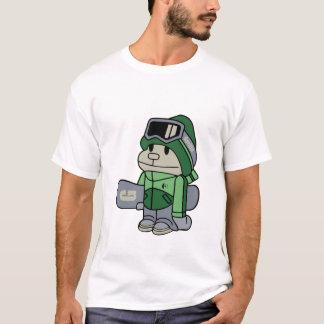 Camiseta Gorila - Snowboarder