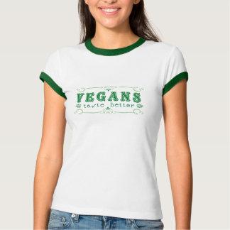 Camiseta Gosto dos Vegans melhor