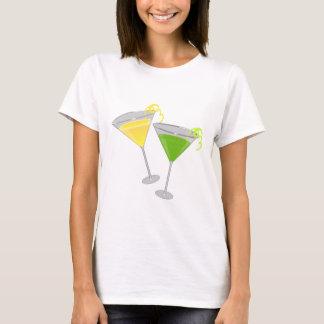Camiseta Gota de limão e Apple verde Martini