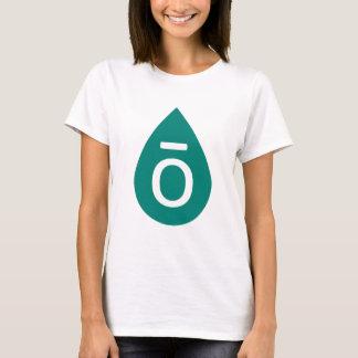Camiseta Gota verde do óleo