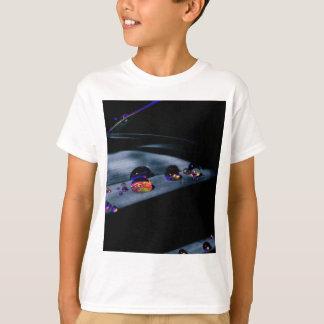 Camiseta Gotas coloridas da água