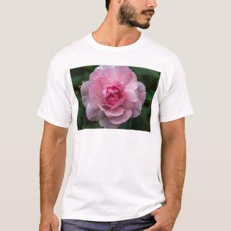 Camiseta Gotas cor-de-rosa