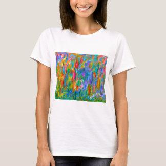 Camiseta Gotas da cor