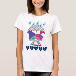 Camiseta Gotas felizes da chuva dos troll |