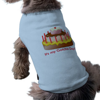 Camiseta Gotcha camisa do dia para cães