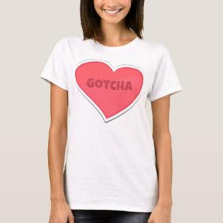 Camiseta Gotcha design da adopção