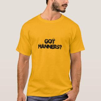 Camiseta gotmanners?